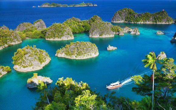 Soggiorno a Bali e crociera di 5 o 10 notti nelle isole di Komodo e Raja Ampat