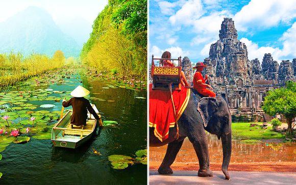 Tour Vietnam ed estensione in Cambogia
