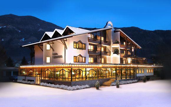 4* in stile alpino con elegante spa