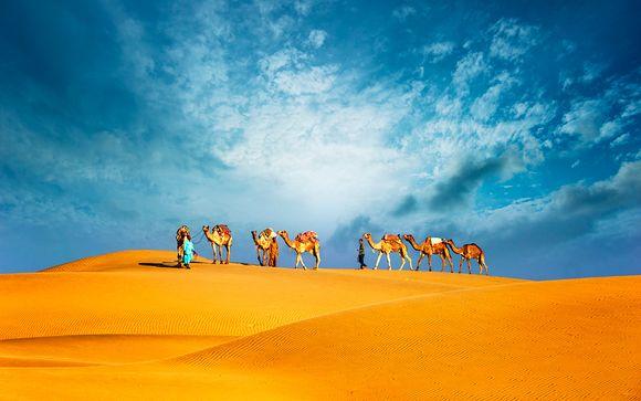 Lusso a 4* con crociera, tour della città e safari nel deserto