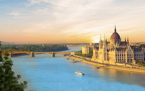 Crociera lungo il Danubio Blu attraversando 5 capitali