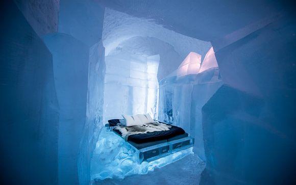 Fly & drive in Lapponia con pernottamento in hotel di ghiaccio