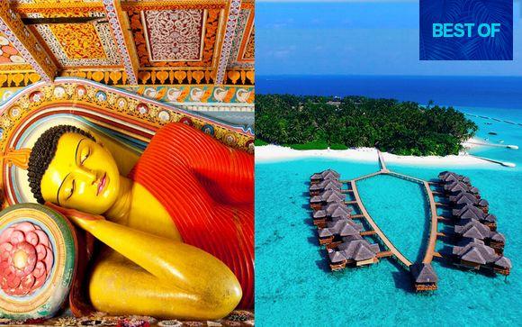 Magico Sri Lanka e relax alle Maldive