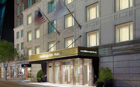Omni Berkshire Place Hotel 4*