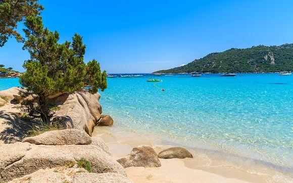 Ville in stile mediterraneo con accesso alla spiaggia