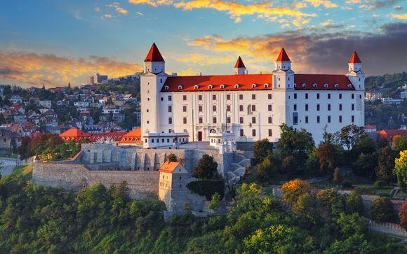 Itinerario crociera con partenza da Sofia e arrivo a Vienna in 9 notti per le partenze del 9 e 28 luglio e del 16 agosto