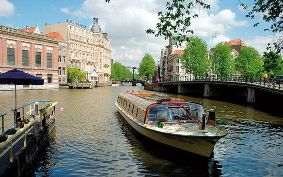 L'itinerario del 18 agosto da Amsterdam a Basilea