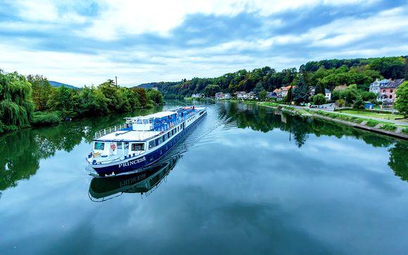 La nave - Motonave Princess per le partenze del 10 e 17 agosto