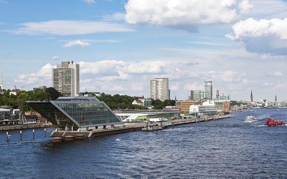 L'itinerario per le partenze del 17 agosto da Amburgo a Berlino