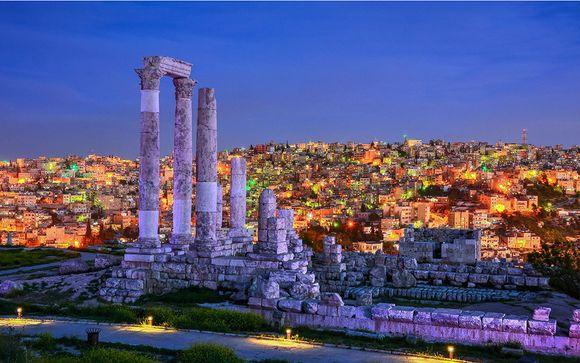 Giordania - itinerario del tour (soggiorni da sabato a sabato)