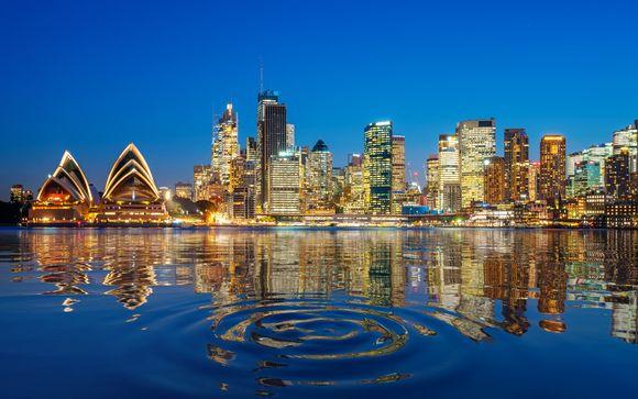 L'itinerario del tour in Australia