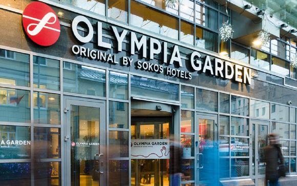 Sokos Olympia Garden hotel 4* o similare
