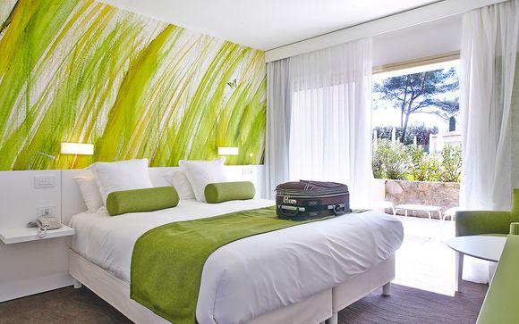 L'Hotel La Vague De Saint Paul 4*