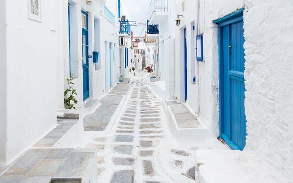 Itinerario 13 notti - Santorini, Paros,  Mykonos