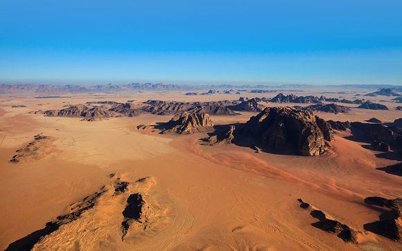 L'itinerario con notte nel Wadi Rum - viaggio da sabato a sabato