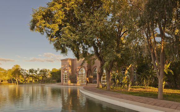 Benessere di lusso tra le palme a Marrakech