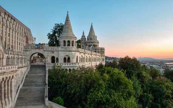 Budapest, 5* d'atmosfera a due passi dal castello