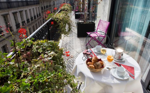 Hôtel Saint Pétersbourg Paris 4*