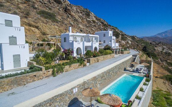 Naxos - Halcyon Villas 4*