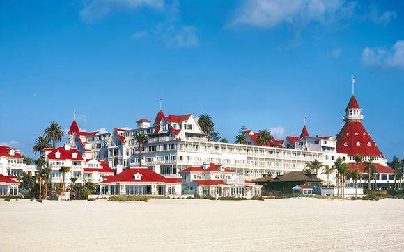 Hotel del Coronado San Diego con possibile estensione a New York
