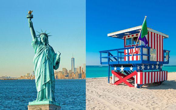 Stile industrial chic a Manhattan e Art Déco sulla spiaggia