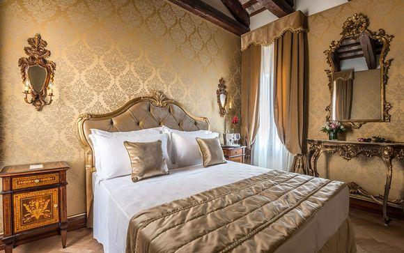 Nobile palazzo veneziano con giardino nel cuore della città