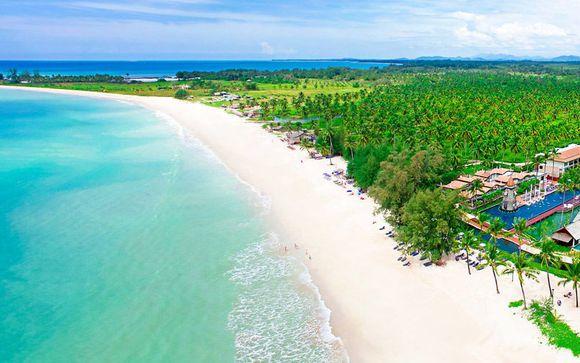 Paradiso 5* All Inclusive sulla bianca spiaggia di Bangsak