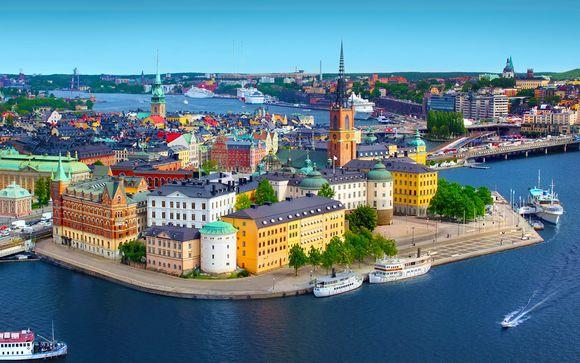 Riga e Stoccolma in minicrociera