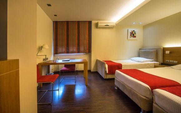 Capsis Hotel Thessaloniki 4*