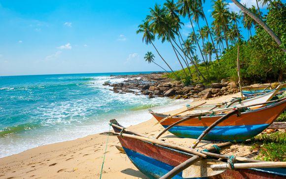 Circuito privato dello Sri Lanka con estensione mare a Kaluthara