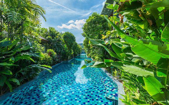 X2 Chiang Mai Riverside Resort 5* + Century Park Bangkok 4* + Metadee Resort & Villas Phuket 5*