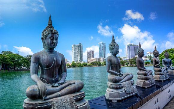 Alla scoperta della cultura e del mare di Ceylon in 5*