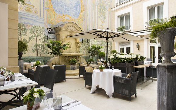 Il Castille Paris, Collezione Starhotels 5*
