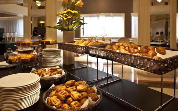 Il soggiorno: Roseo Hotel Leon D'Oro 4*