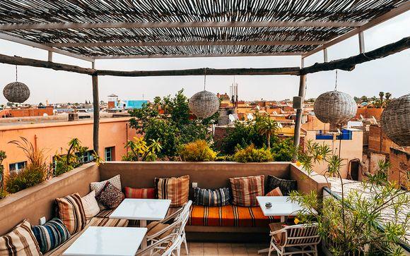 Oasi marocchina nel cuore della città rossa