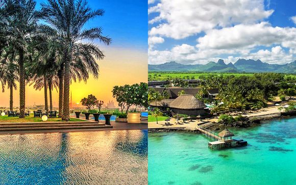 Crowne Plaza Festival City Dubai 5* + Maritim Resort & Spa Mauritius 5*