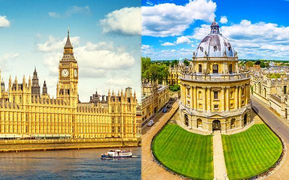O Hyde Park 4* con possibile soggiorno a Oxford