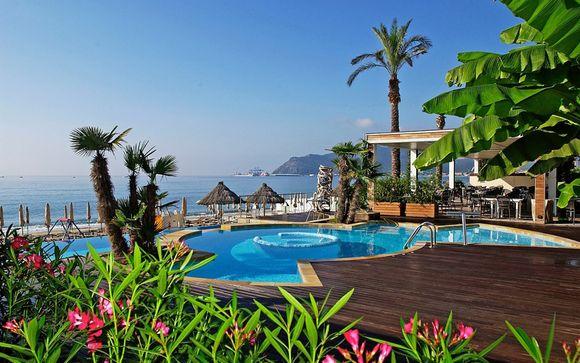Design e relax in moderno 4* sulla spiaggia di Ponente