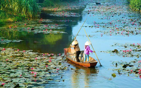 La magia del Vietnam con soggiorno in Cambogia