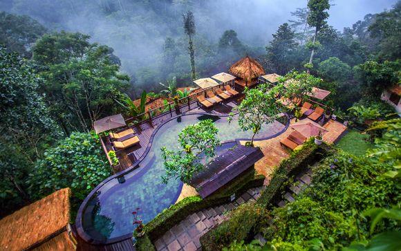Nandini Jungle Resort and Spa + Peppers Seminyak con possibile soggiorno Alila Manggis 4* a Candidasa