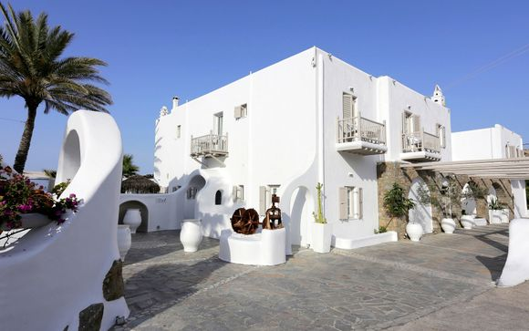 Mykonos Palace Beach Hotel 4*
