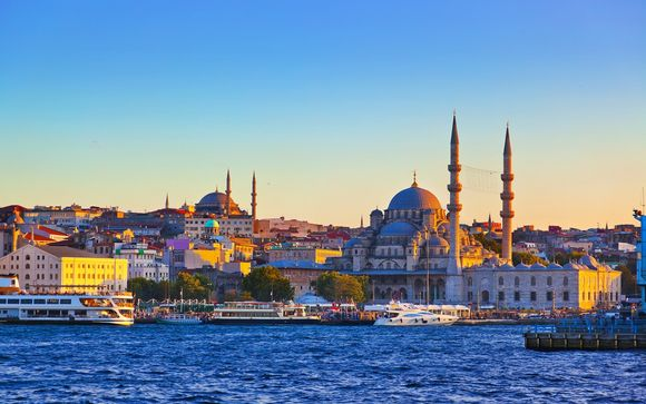 Scopri la più grande della Turchia, Istanbul e la sua bella architettura