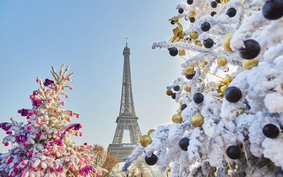 La magia del Natale a Parigi