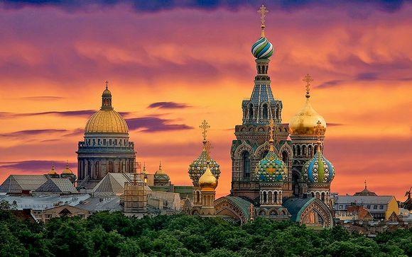 Helsinki - S.Pietroburgo con minicrociera