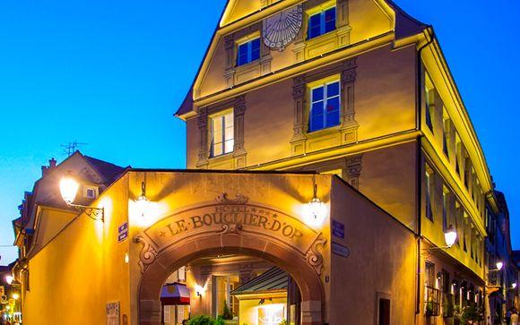 L'Hotel & Spa Le Bouclier d'Or 4*