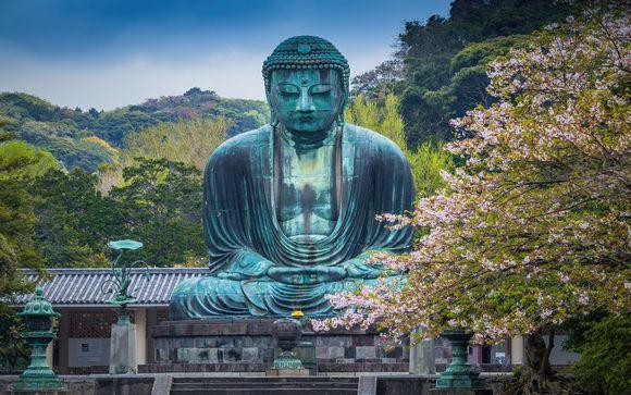 Itinerario con 8 notti: Tokyo - Kamakura - Shirakawago - Kyoto - Nara - Osaka
