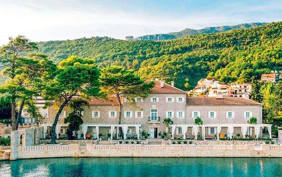 Lussuoso 5* in palazzo del 700 sulla baia di Kotor