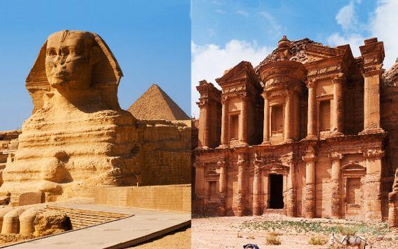 Le Piramidi & Petra