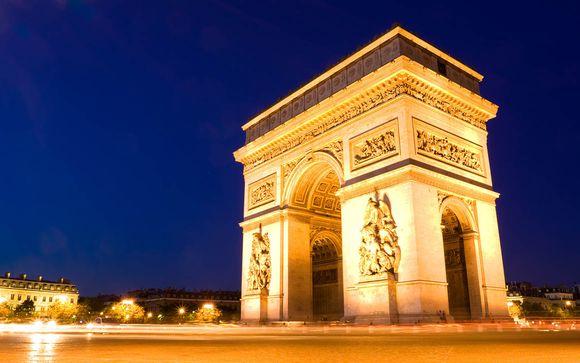 Soggiorno romantico a pochi minuti dagli Champs Elysées