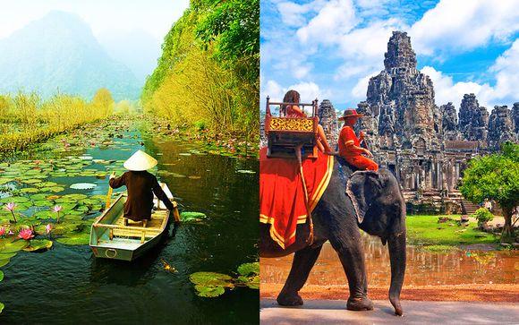 Tour 12 notti dal Vietnam alla Cambogia lungo il fiume Mekong